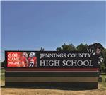 GSC 600E 750 Sign Series Jennings County High School North Vernon IN