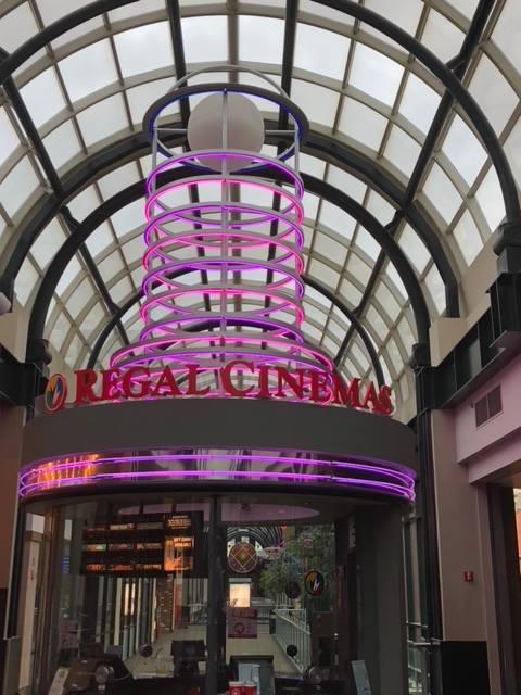 Regal Cinema Neon Lighting Repair